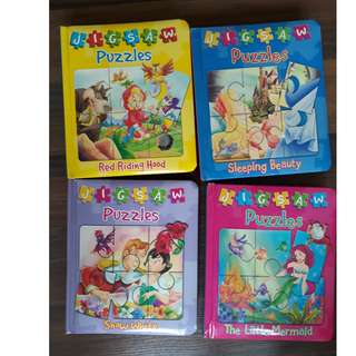 Books with Puzzles (Set of 4)
