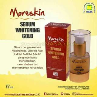 Moreskin serum withening gold