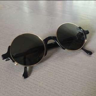(Vintage) Giorgio Armani Round Sunglasses