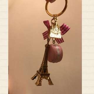 巴黎鐵塔吊飾 馬卡龍 法國🇫🇷 粉紅