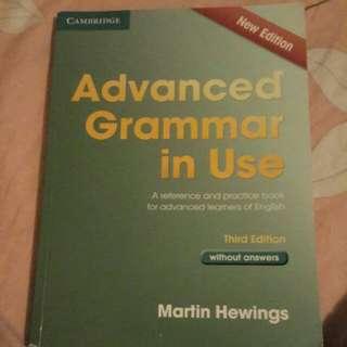 Advanced Grammar in Use [3rd edition]