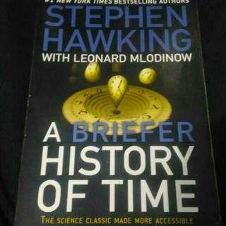Buku Stephen Hawking impor