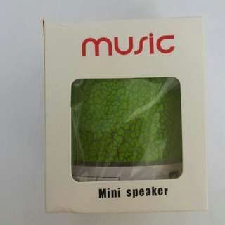 全新 Music mini speaker