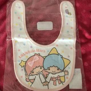 Little twin stars baby bibs
