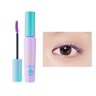 (BN) Etude Wonder Fun Park Lash Perm Curl Fix Mascara #Pang Pang Purple