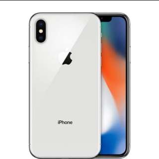 IPhone X 256gb Silver sealed
