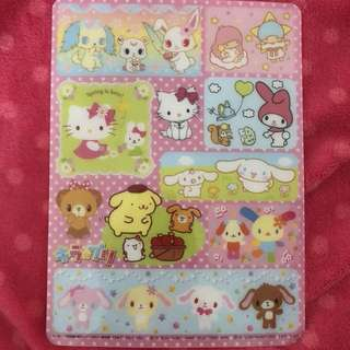 Sanrio poster card collection