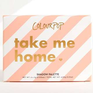 Colourpop Take Me Home Eyeshadow Palette