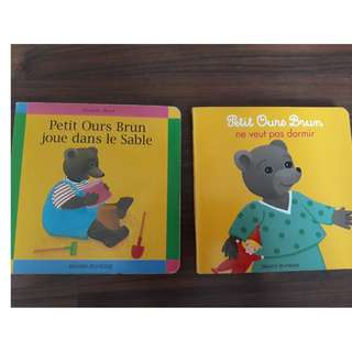 French Books (Petit Ours Brun)