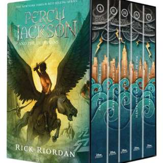 Percy Jackson Series - Scholastic