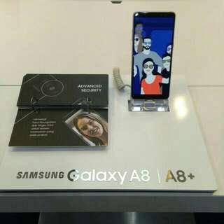 Samsung Galaxy A8+ bisa kredit 30 menit aja