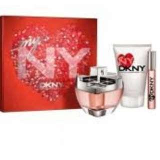 DKNY Donna Karen my ny perfume set
