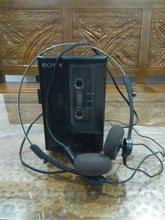 Walkman sony cassette corder