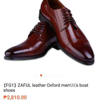 Oxford Shoes (Brown)
