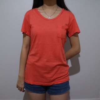 Plain Orange Shirt