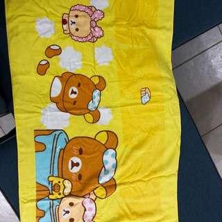 Rilakkuma Yellow Towel