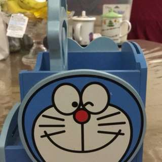 多啦A夢筆筒 Doraemon pen holder