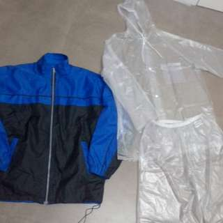 Jacket and raincoat