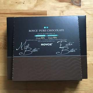 Royce 苦味 朱古力 Mild + Extra Bitter Pure Chocolate 38 pieces