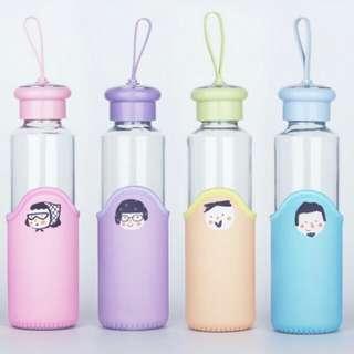 My Bottle Cute Cartoon | Botol Minum Tutup Stainless Sekolah Travel