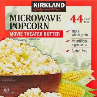 Kirkland Signature 科克蘭奶油口味微波 爆米花
