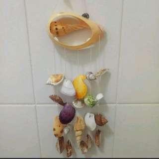 🔔超漂亮的彩色貝殼掛飾