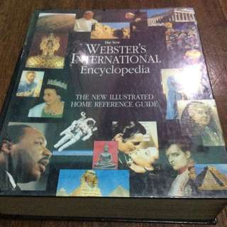 HARDBOUND Webster's International Encyclopedia
