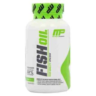 MUSCLE PHARM FISH OIL 90 SOFTGELS (USA) - COD FREE SHIPPING