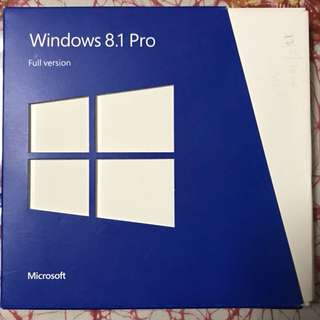 Microsoft Windows 8.1 Pro DVDs with product key
