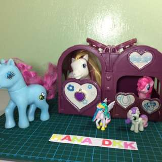 My Little Pony with farm set