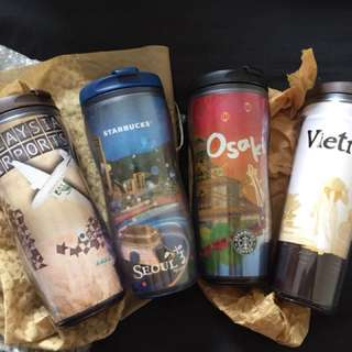 Starbucks Destination Tumblers