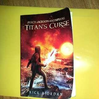 Novel Percy Jackson