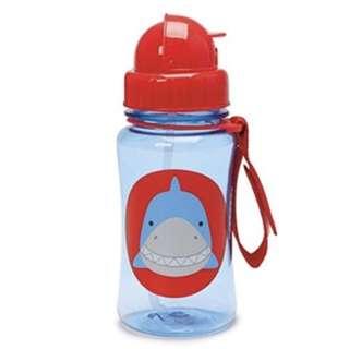 Skiphop shark straw bottle