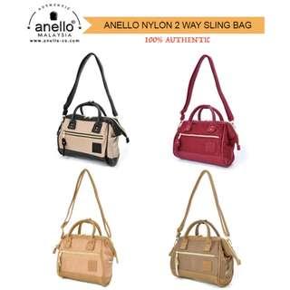 Anello Nylon 2 Way Slingbag