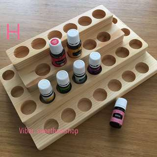 Young Living Essential Oil wooden Box H