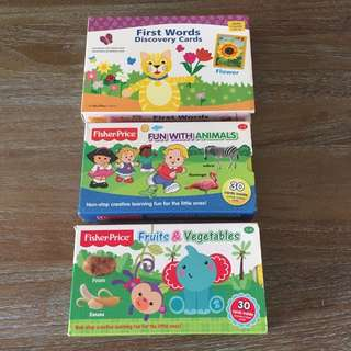 Flash Cards (set of 3)