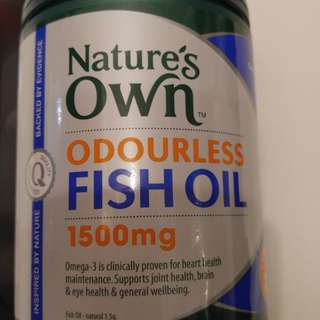 (最後一樽)澳洲全天然魚油丸1500mg(200粒膠囊)