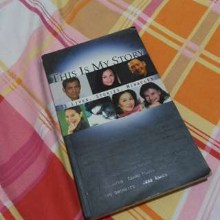 """This is my story """"31 live, stories, miracles"""""""