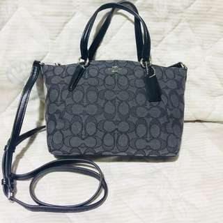 Coach Mini Kelsey bag with sling