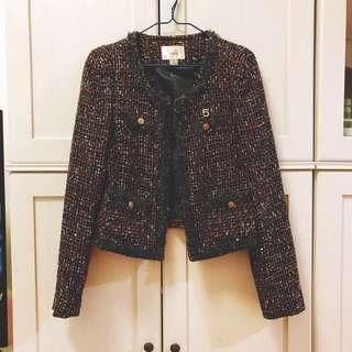 💕購自韓國Tweed jacket. 全新未著過,平售💕