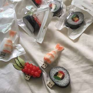 8gb Usb Drives In Sushi Shapes