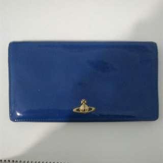 新藍色銀包