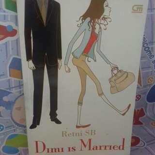 Novel Metropop, Dimi is Married