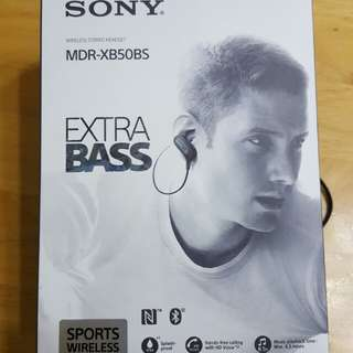 SONY MDR-XB50BS 藍牙耳筒