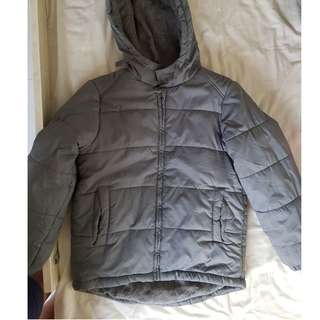 Fox Winter Jacket (Grey) Fleece & Waterproof