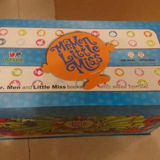 Dr Max Mr.Men Little Miss books with added Sparkle