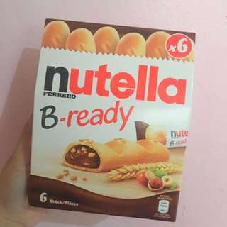 Nutella B-ready X6 And X10
