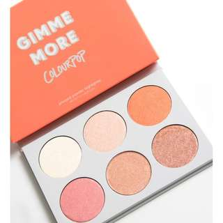 Colourpop Highlighter Palettes (Gimme More & In-Nude-Endo)