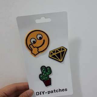 DIY Patches (set of 3)