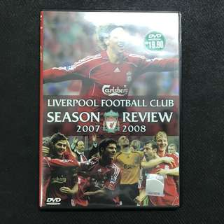 [DVD] Liverpool Season Review 2007-08